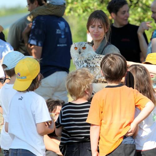 Besuch Waldkindergarten
